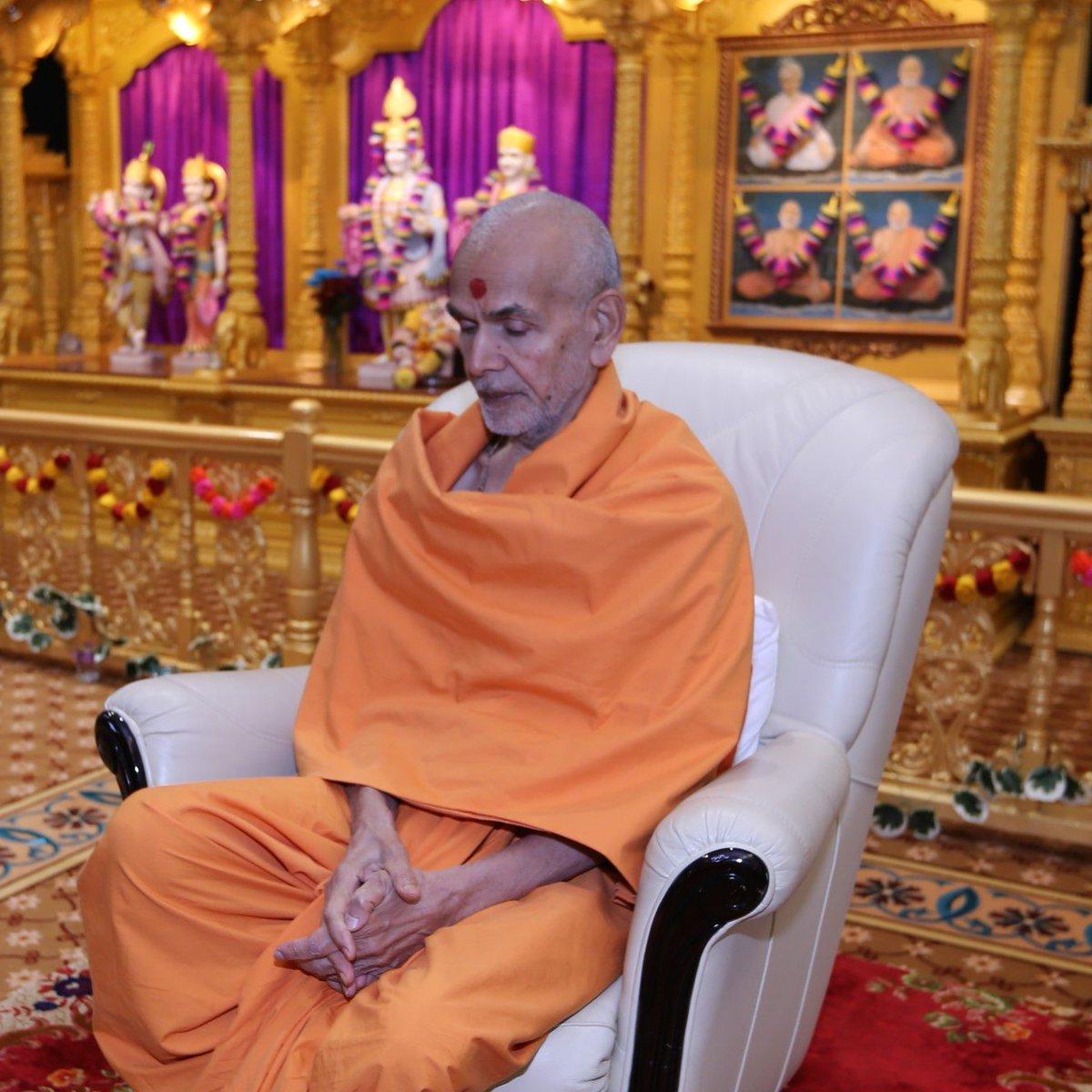 Happy New Year Mahant Swami 71