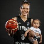 Image for the Tweet beginning: 👶🏀♥️ @TallFerns #FIBAAsiaCupWomen @BasketballNZ