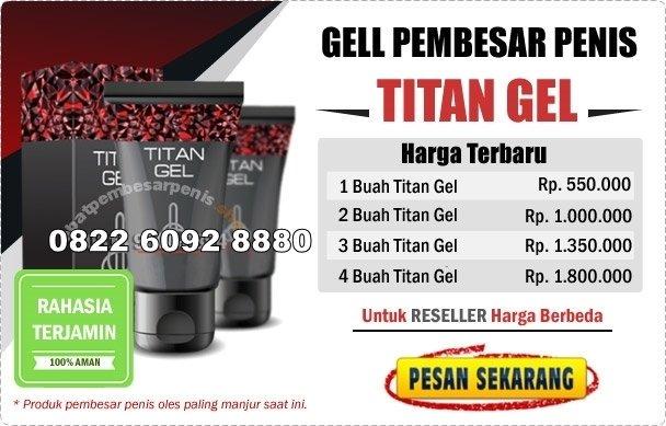 Harga Titan Gel Asli DI Bandung