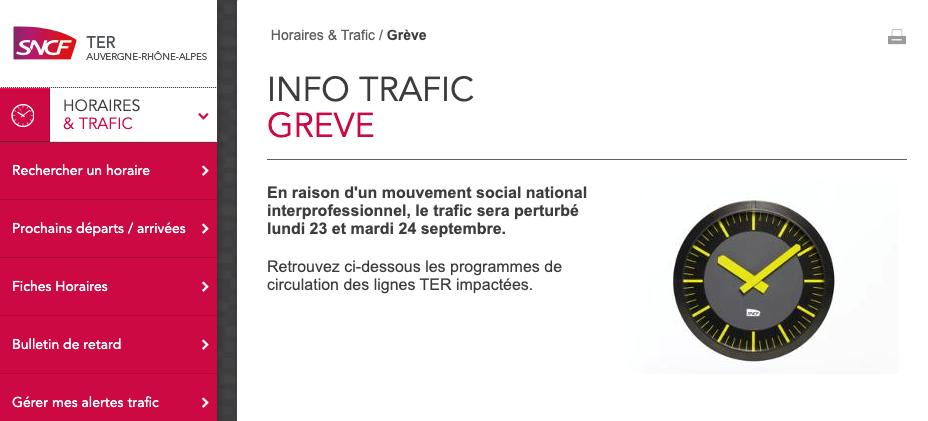 LYON OUTREACH: The CGT-Cheminots and SUD-Rail unions have filed a notice to strike. If you are planning to attend our outreach event in #Lyon tomorrow this may affect you. Visit the SNCF website for more information:    http:// bit.ly/2l2KyHZ     #UKNationals<br>http://pic.twitter.com/vtNHNEt6Ie