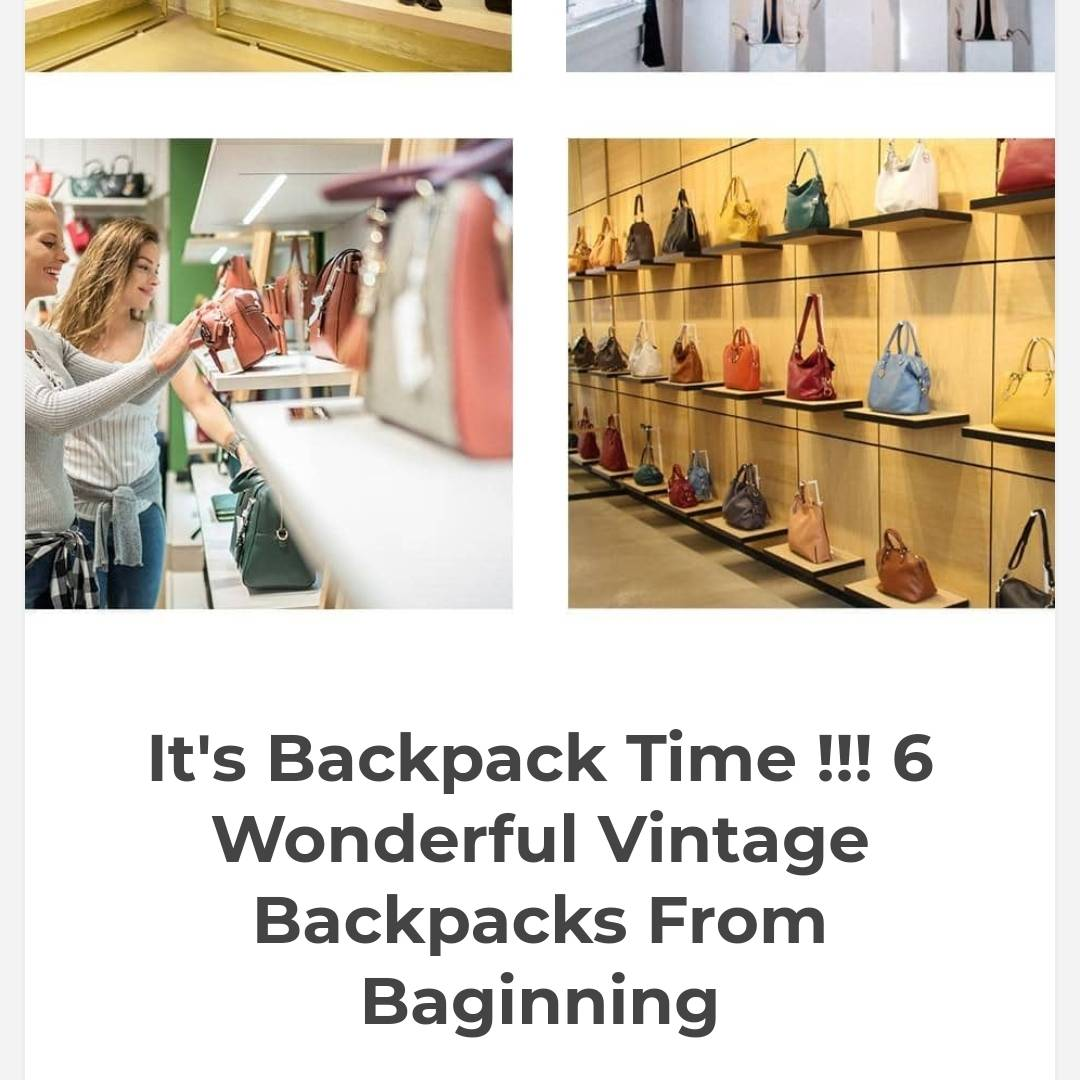 Never say no for a new bag  https://www.deriasworld.com/2019/09/its-backpack-time-6-wonderful-vintage.html?m=0…  #bags #backpacks #womanbags #handbags #bagmaniapic.twitter.com/7W8wFRG4gz