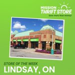 Image for the Tweet beginning: Mission Thrift Store Lindsay will