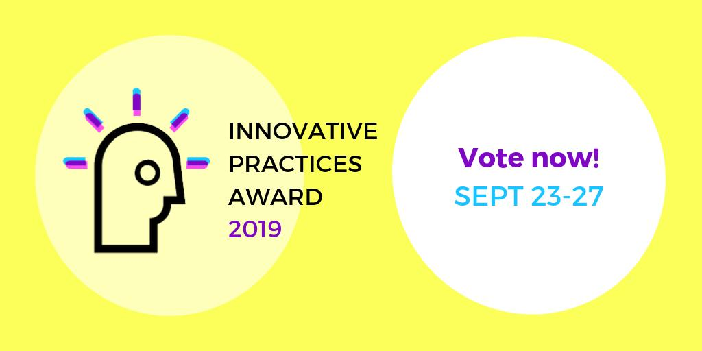 Our #Hispanic Center for Financial Excellence received the @NFCC Agency Innovation Award last year and is honored to be a finalist for the COA Innovative Practices Award! Vote for us in 3 clicks with no contact info required!