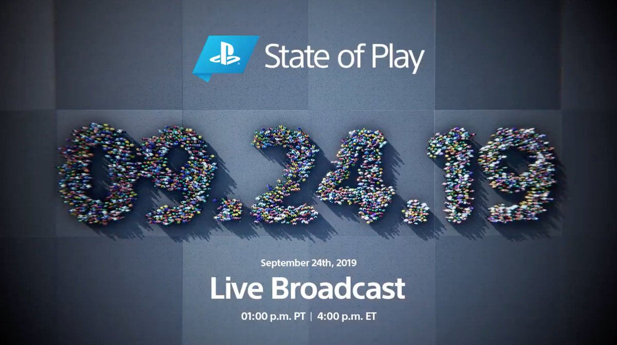 A new episode of State of Play. Tomorrow at 1pm Pacific. 👀🎮
