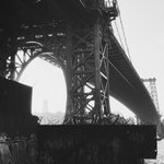Image for the Tweet beginning: Under the Williamsburg Bridge at