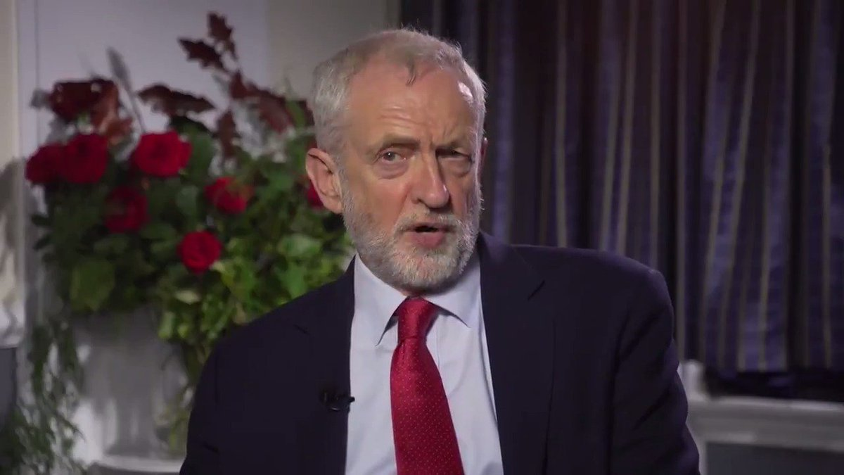 Jeremy Corbyn: Bring people together, recognize we have to have a close trading relationship with Europe under all circumstances, rather than, which is what I suspect Boris Johnson wants which is to do a sweetheart deal with the United States and put that alongside remain.