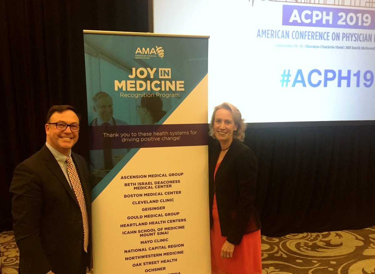 Bidmc On Twitter The Amermedicalassn Recently Recognized Bidmc And Harvard Medical Faculty Physicians Hmfp S Wellness Work As Part Of A Joy In Medicine Program Pictured Chris Awtrey Md Hmfp Vp For Network