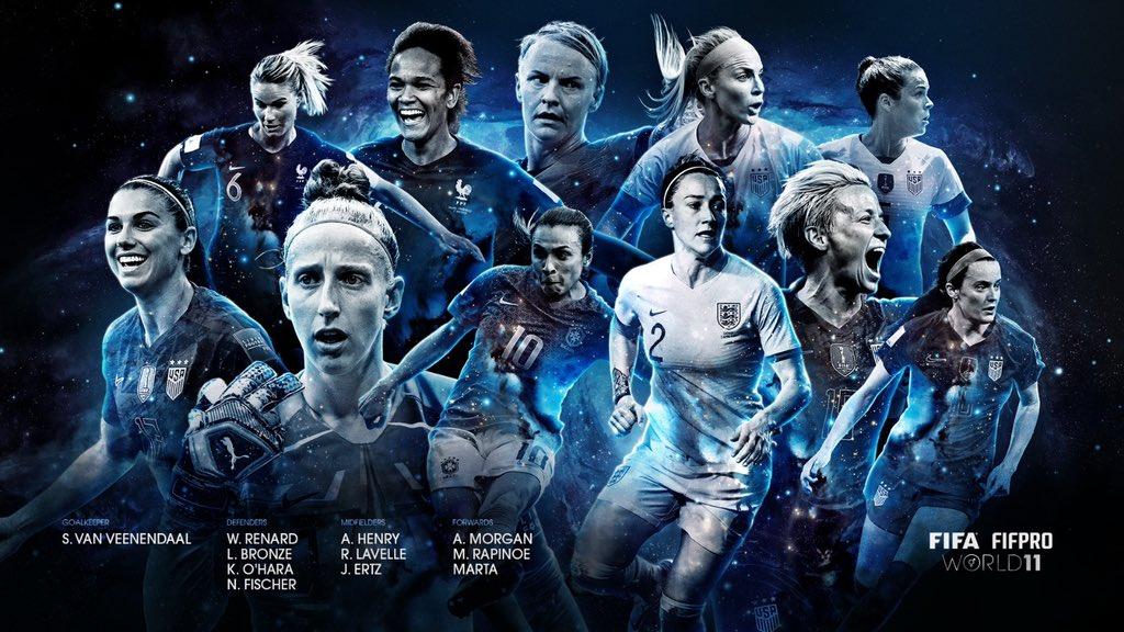 Onze féminin 2019