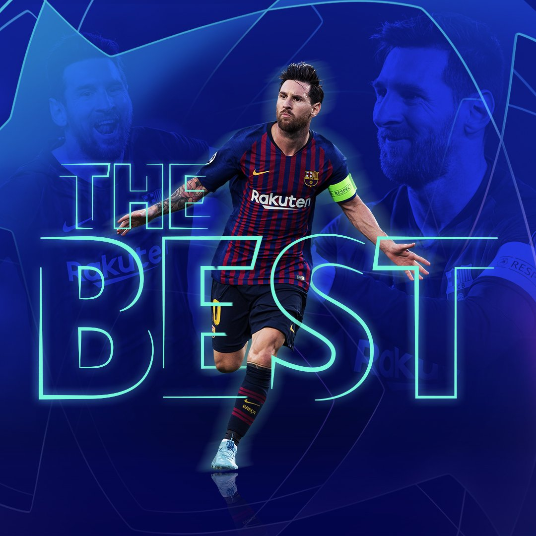 🥇 Congrats, Leo Messi - #TheBest FIFA Mens Player 2019! 👏👏👏