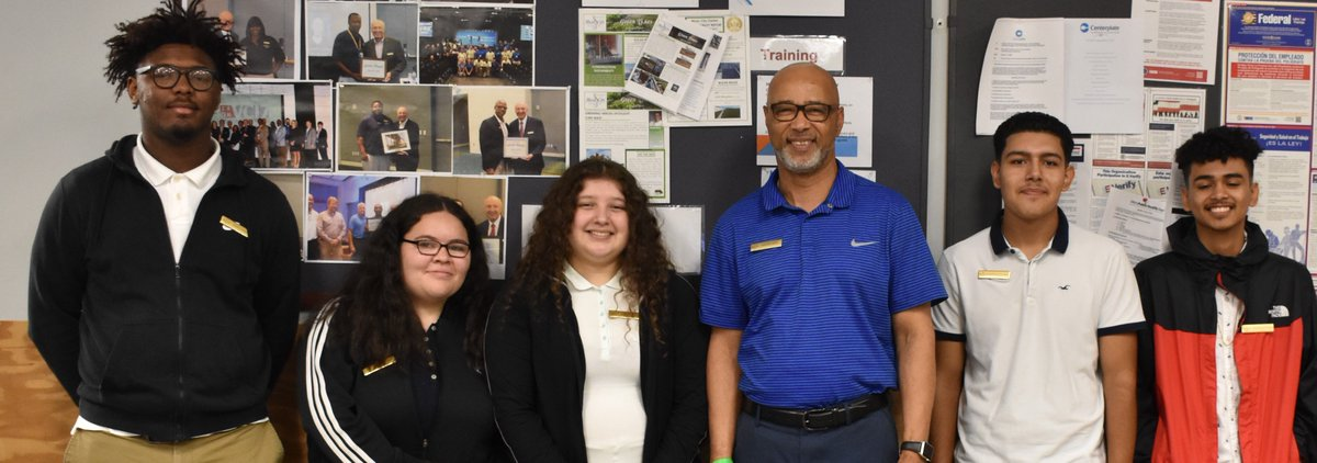 Happy to have students from Hunters Lane High School job shadow at MCC!