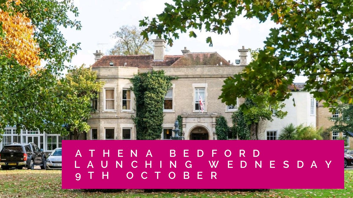 #bedshour things are hotting up for our Bedford #Athena launch on the 9th Oct - very excited to get over there next week to make final plans with @WoodlandManor if you know anyone interested in finding out more here's the event link https://t.co/1vWta23rbV https://t.co/vniqEpQ5PI