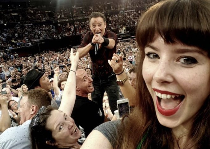 Bruce Springsteen 70 years old today. Happy birthday Boss  .