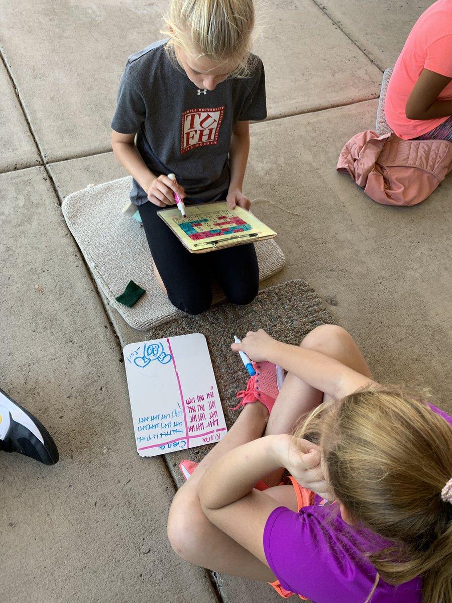 #SFmathrams enjoying math outside! Factor Captor fun!