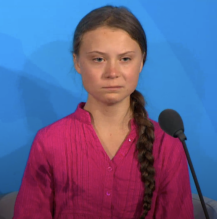 """""""You have stolen my dreams and my childhood with your empty words. And yet I'm one of the lucky ones."""" Watch in full - @GretaThunberg's speech to world leaders at the #UNGA Climate Summit."""