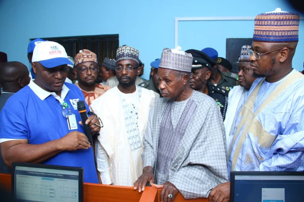 Images during the formal launch of the National Emergency Toll-Free Number (112) and the Commissioning of the Katsina State Emergency Communications Center held in Katsina, Katsina State. #NITDA #NITDA19 @k_inuwa