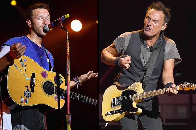 Bruce Springsteen is the greatest artist in history. Chris Martin  Happy 70th birthday to The Boss.