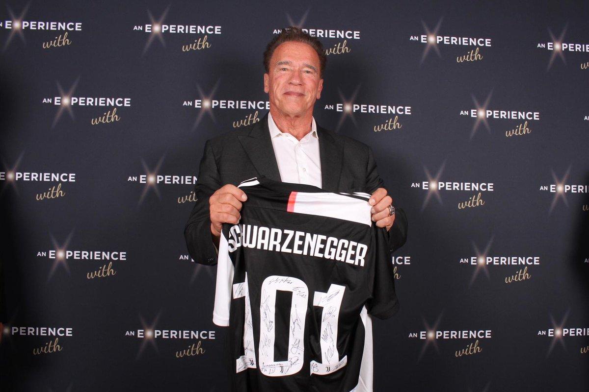 Hasta la vista, Arnold @Schwarzenegger! 💪⚪⚫ https://t.co/ECP2NzOR5L