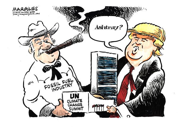 As #Climate Week Starts At The UN, Trump Is Recognizing The Event With This Special Gift via @JimmyMargulies @Juanofwords @508gloryFelix @Adjunctcrayon @boris3324 @TheZenPuppy @teapartybuster @FroggyBottomPnd @ShiCooks @Ange_Amene @BagdMilkSoWhat @VABlueBelle18 @SteveFM20