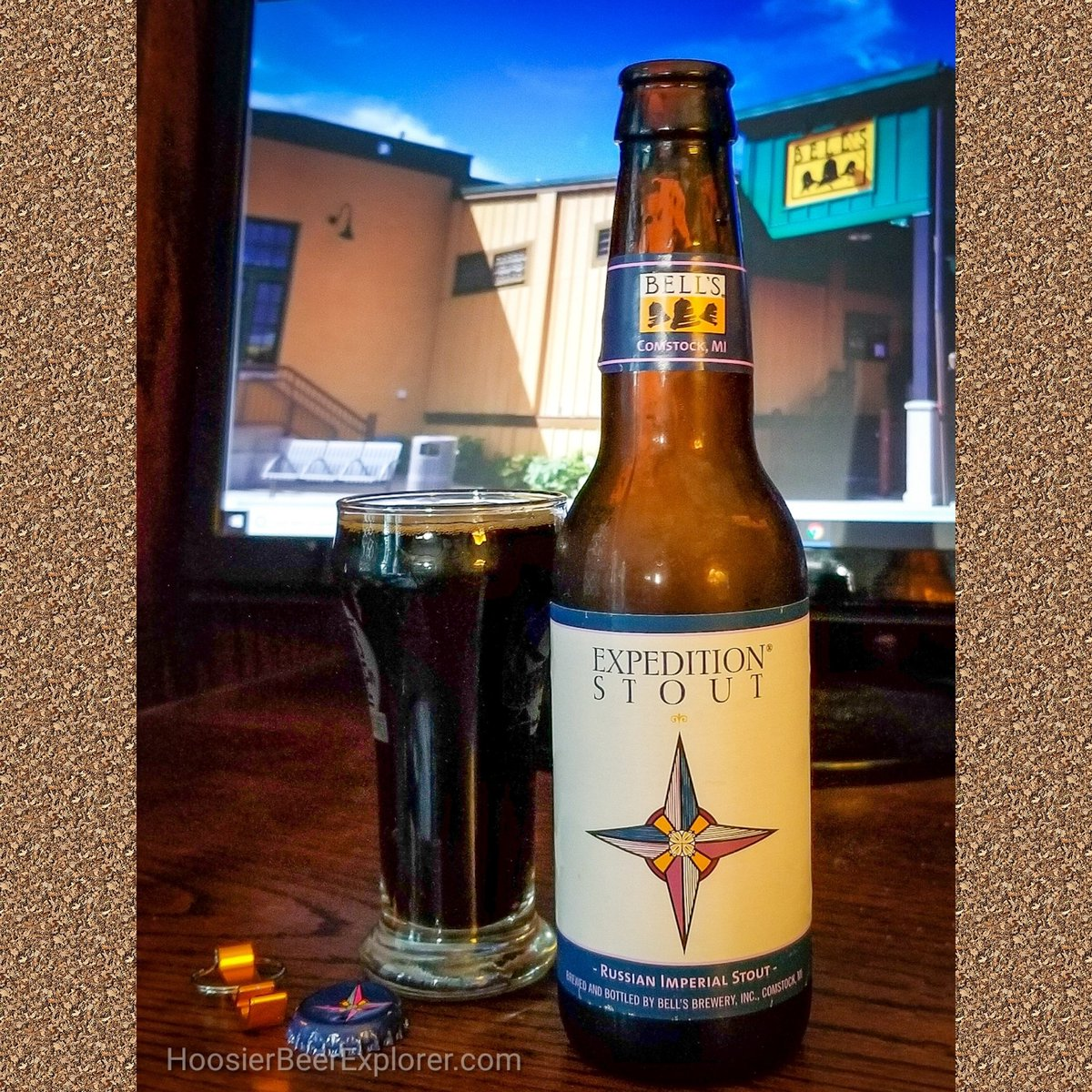 Reminiscing aboat our trip up north. The Expedition Stout from @bellsbrewery makes a great souvenir. @bellseccentriccafe is a must visit. Yummy food and beer of course. #craftbeerlover #michigancraftbeer #bellsbrewery