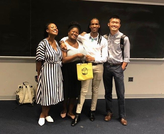 Last Monday, @GeorgetownGHD students participated in a discussion with @ZolaniMetu, founder of Decolonial Mental Health (@HealthDMH), on decolonial approaches to promoting mental health, and enhancing talent performance and positive wellness achievement.
