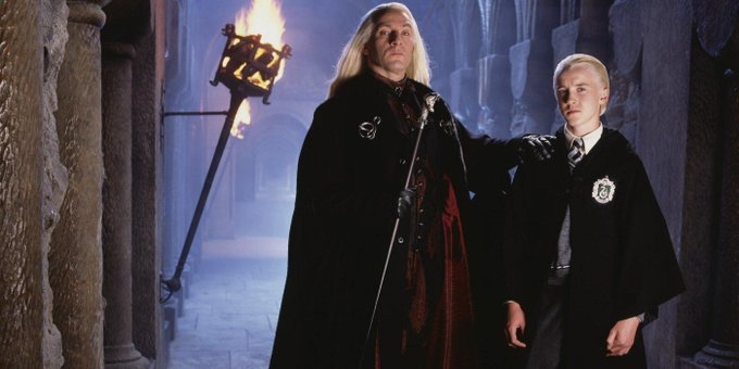 Harry Potter: Lucius Malfoy Actor Wishes His \Son\ a Happy Birthday