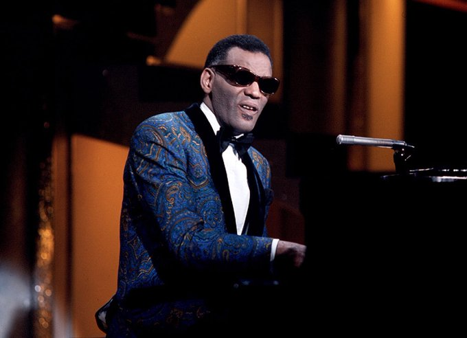 Happy birthday, Ray Charles.