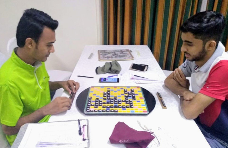 Won the monthly ranking tournament yesterday with a record of 9-0 +1603, averaging 512 per game. Glad to regain the top spot in the national rankings after 6 months. ✌️  https://t.co/7jbAkSpXTr  #scrabble #pakistanscrabble #karachi #moizullahbaig #pakistaniyouth #mindsport https://t.co/JuAPQQzK7z