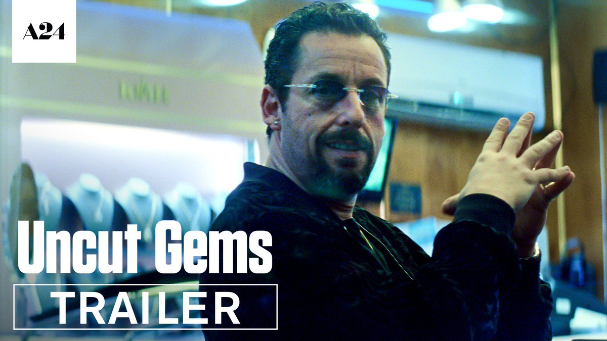 💎 ANYTHING IS POSSIBLE 💎 Watch the trailer for @UncutGems, a new @JOSH_BENNY film starring @AdamSandler. December.