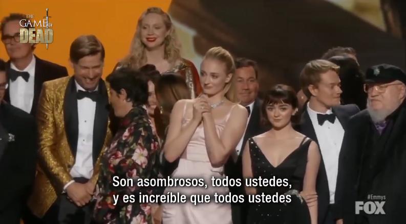 🔴VÍDEO NUEVO! #Subtitulado #GameofThrones recibiendo Emmy a Mejor Serie Dramática 🏆✨✨✨✨ #Emmys2019 Ver Aquí➡️ cort.as/-RUZc #JuegodeTronos #Emmys