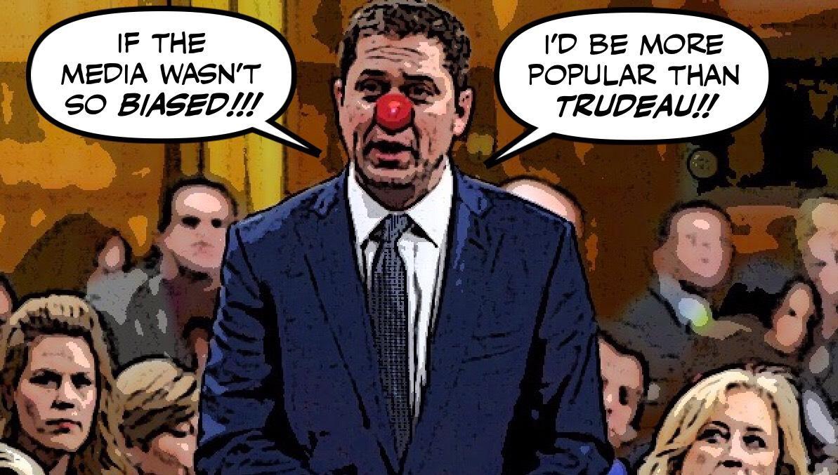 @GeorgeTheSparti @AndrewScheer #IStandWithTrudeau