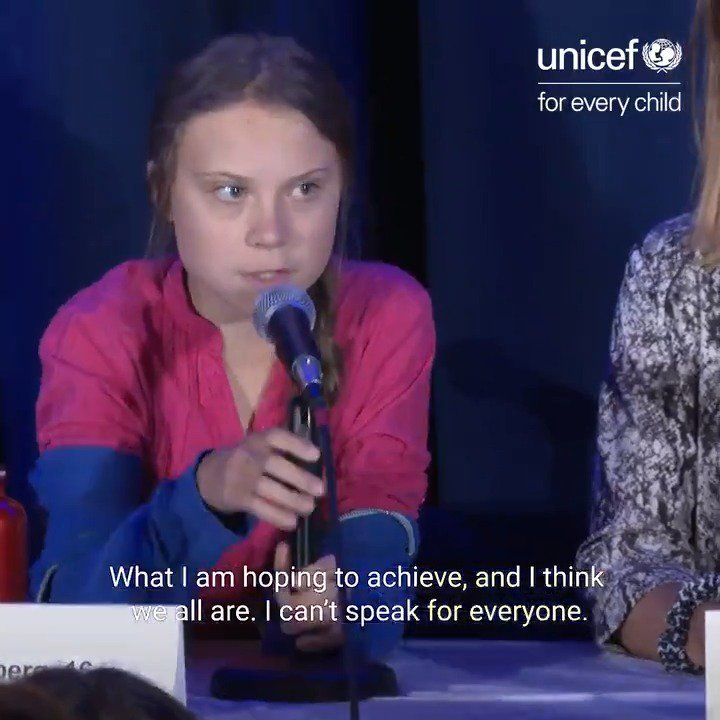 16 children – including @GretaThunberg & @AlexandriaV2005 – filed a landmark complaint on the climate crisis to the UN child rights committee. They're demanding #ClimateAction now, #ForEveryChild. #UNGA