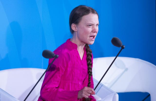 """""""I shouldn't be up here. I should be back in school on the other side of the ocean, yet you come to us young people for hope. How dare you."""" ~ @GretaThunberg, slamming world leaders #ClimateActionSummit #UNClimateSummit #GretaThunberg #Nepal #UNClimateActionSummit #ClimateAction"""