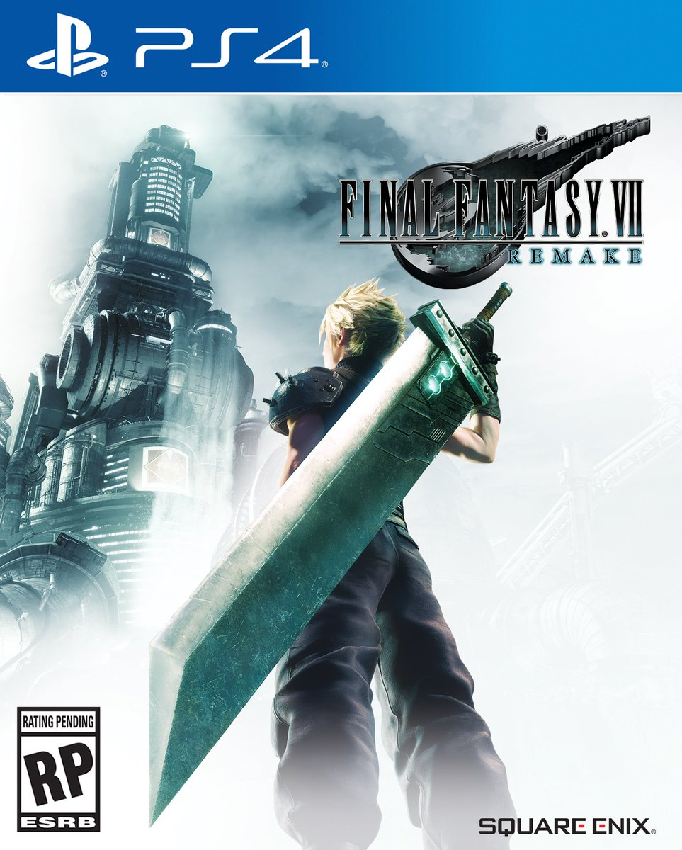 Image result for final fantasy 7 remake box art