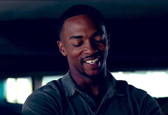 Happy birthday anthony mackie!!!! the one and only sam wilson!! nothing but respect for my captain america