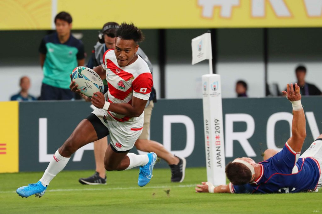 Matsushima hat-trick leads Japan past Russia Read full story here: en.rugby-japan.jp/2019/09/21/mat… #rugbyjp
