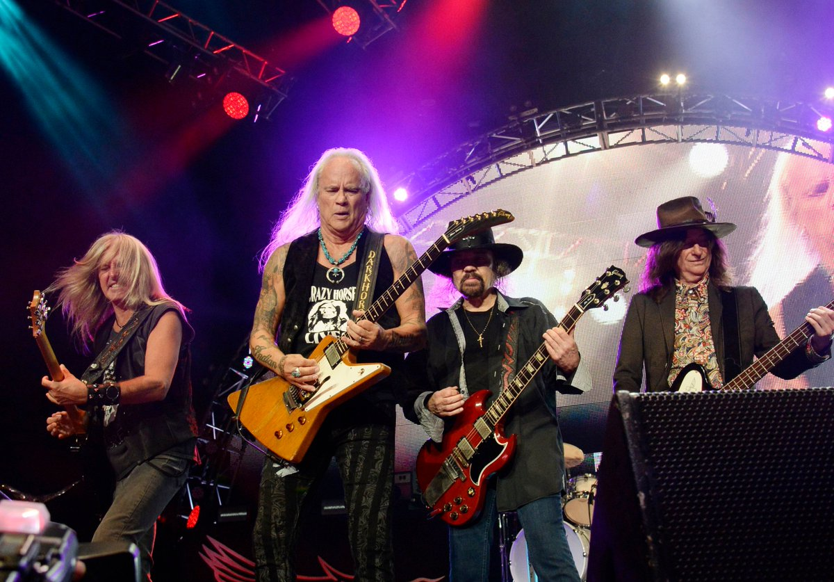 Lynyrd Skynyrd will document the hometown date from their farewell tour with an upcoming, one-night-only concert film screening rol.st/2mBwntM