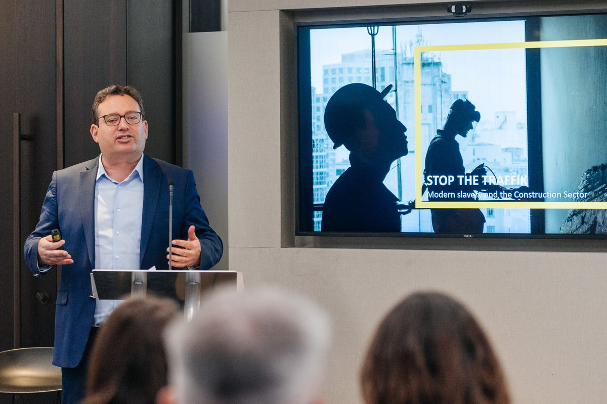 Our Director of Business Practice Jason Nunn spoke at Whitbreads Sustainability Supplier Engagement Event discussing Modern Slavery in Construction supply chains. Were working with @WhitbreadPLC to create a positive change in the sector. Learn more buff.ly/2mnkqYt