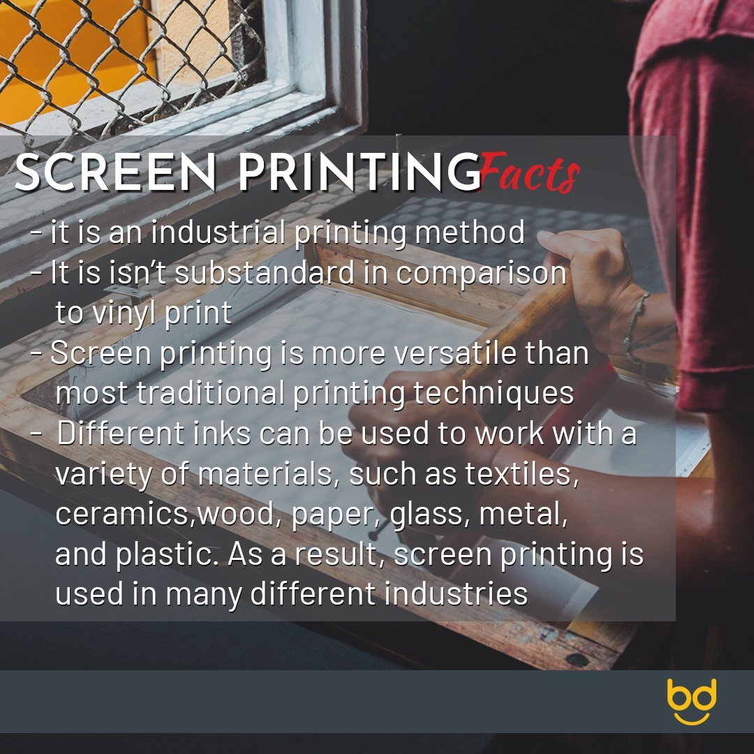 Screen printing facts, how well do you know your prints ? . #printshop #picoftheday #production #tshirtprinting #garmentbranding #branding #tailoring #printing #madeinnigeria #lagos #Nigeria