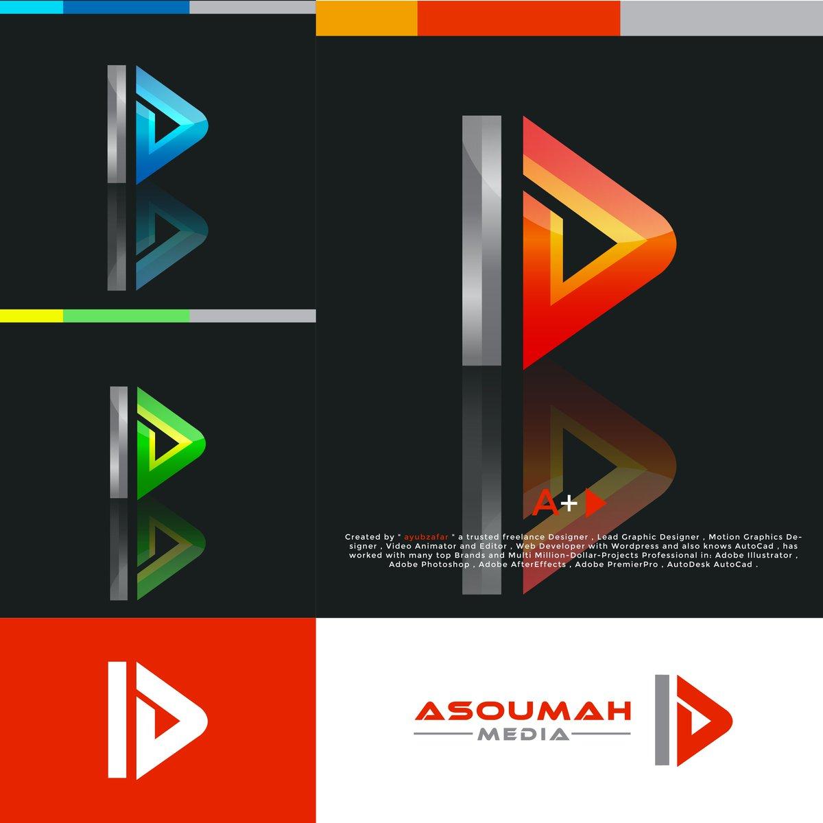 "3D Logo Design For ""Asoumah Media"" by @ayubzafar2 . . Order a Highly Professional Brand Logo Now . . Follow for more @ayubzafar2 for more  . #3ddesign #mediaset #media #mediacorp #corp #mediacompany #telecommunications #3dlogo #versatilemedia #workshops #MediaGroup #ayubzafarpic.twitter.com/PaPbK6AT2A"