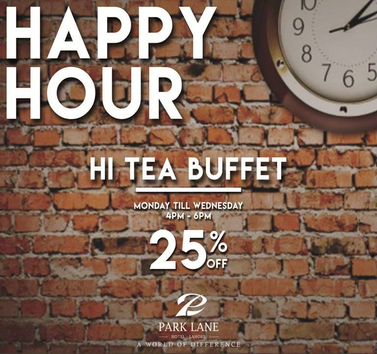 All You Can Eat in Happy Hour‼️ Avail 25% Discount on Hi tea Buffet from Monday to Wednesday😬😍  ☎️ 042 111 111 124 🔗 http://parklane.pk/the-spot/  #ParkLaneHotelLahore #AWorldOfDifference #TheSpot #HiteaBuffet #HappyHour #Gulberg #MMAlamRoad #Lahore