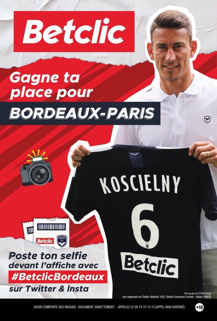 Gagne ta place pour Bordeaux-Paris SG avec Betclic@Betclic https://t.co/wZL3UWgU8k