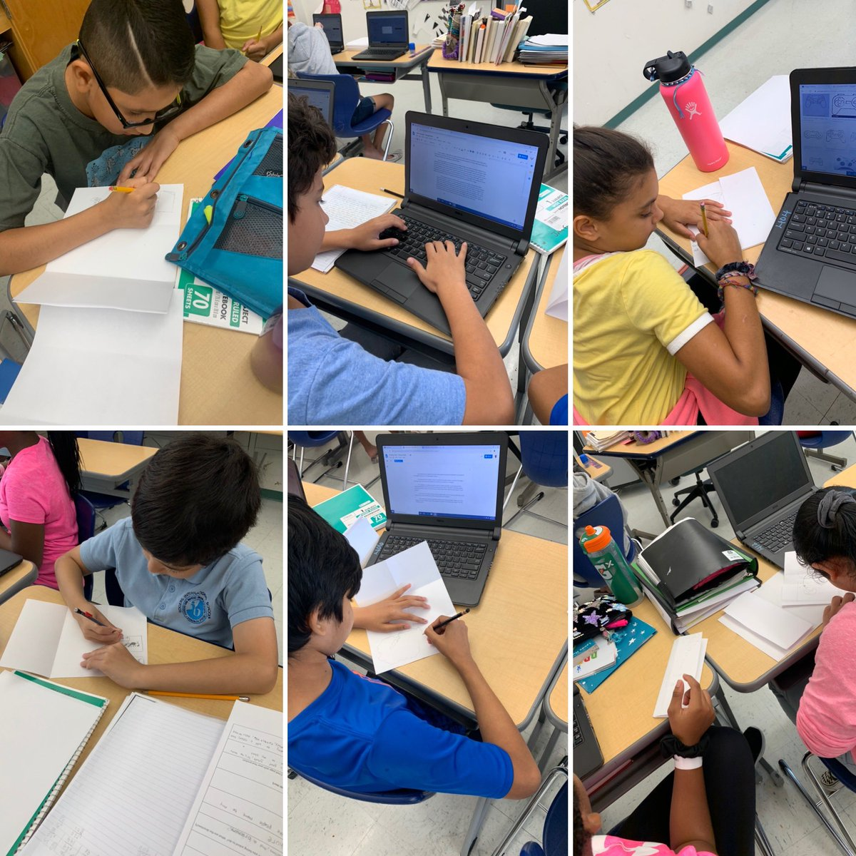 Using our design briefs to create paper and pencil design sketches of travel brochures for our fantasy islands! #mypdesign #developingideas #criterionb #fantasyisland #geography #graphicdesign #spsheartpic.twitter.com/un4xCKHihG – at Rogers International School