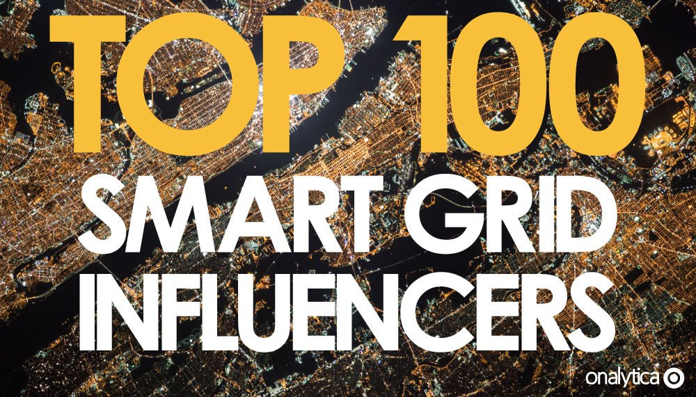The current power grid is quite old, and with #Technology (and power sources) evolving, why shouldn't the grid itself? For this top 100 weve compiled a list of #Influencers leading the online discussion surrounding #SmartGrids 👉bit.ly/2mrPXbL