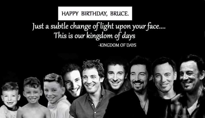 The real turns 70.  Happy birthday Bruce!