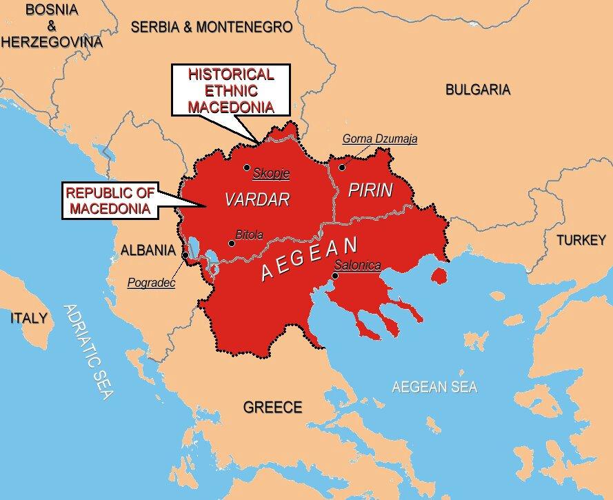 マケドニア 共和国 北