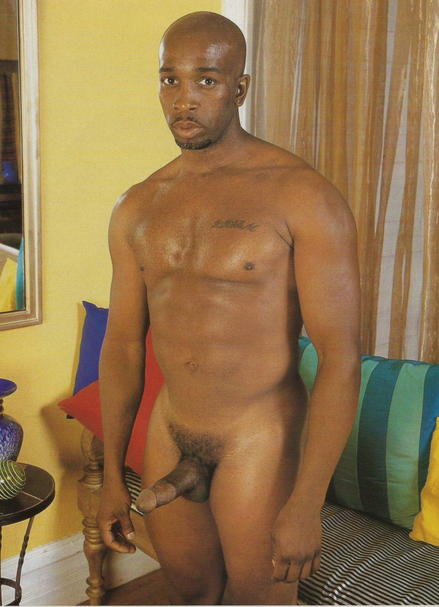 Black straight dude naked on the balcony