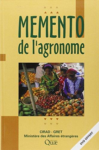 GRATUIT DE TÉLÉCHARGER MEMENTO LAGRONOME