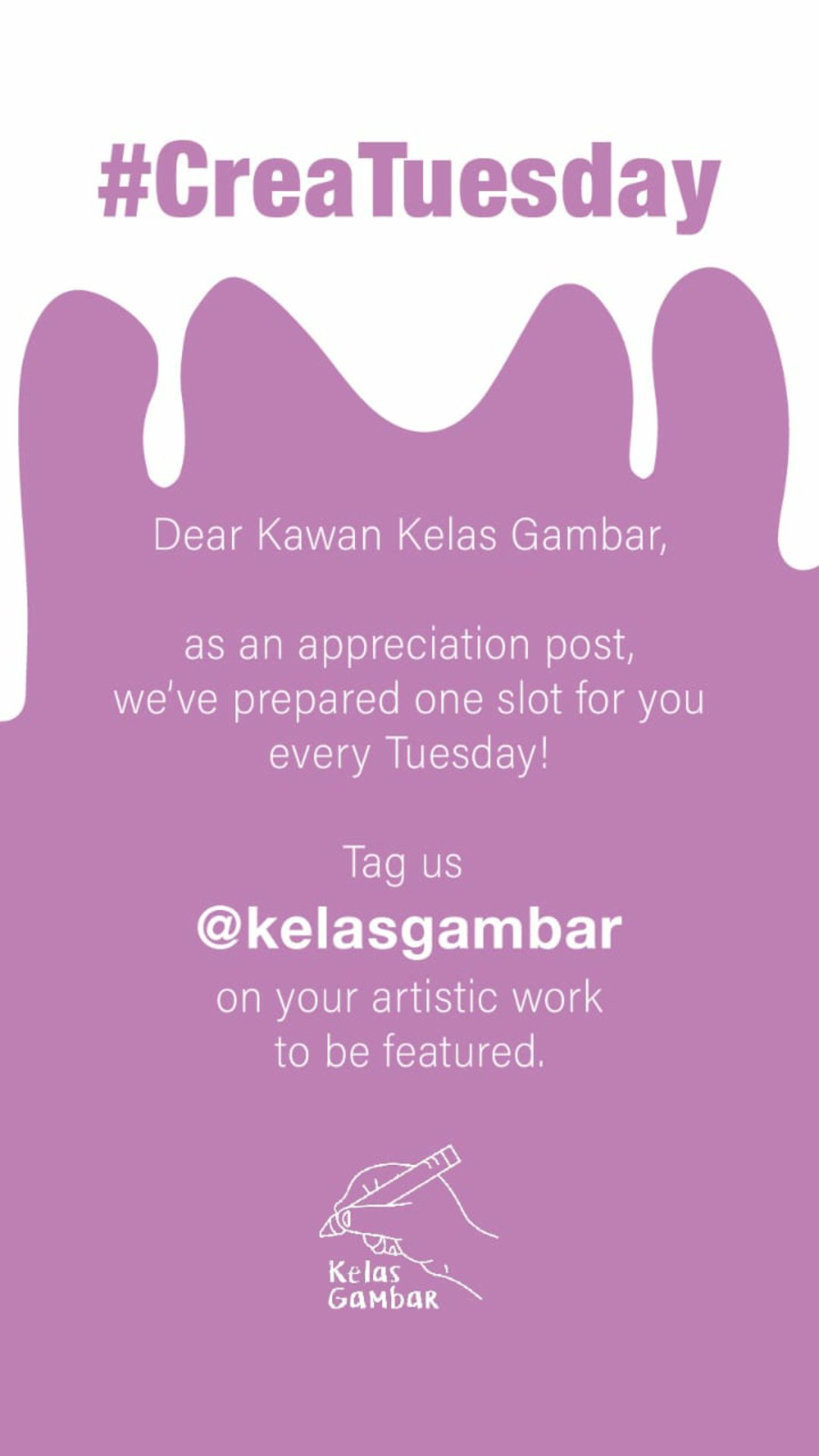 Kelas Gambar On Twitter Every Tuesday We Provide A Slot Of Creatuesday As An Appreciation Post For Your Artworks Kindly Tag Us On Your Art Post Or Email Us To Be Featured