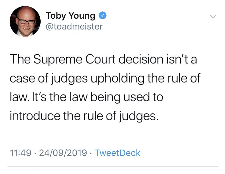 In a crowded field of stupid takes by people who have never previously demonstrated any interest in or aptitude for constitutional law, this tantrum is a market leader.