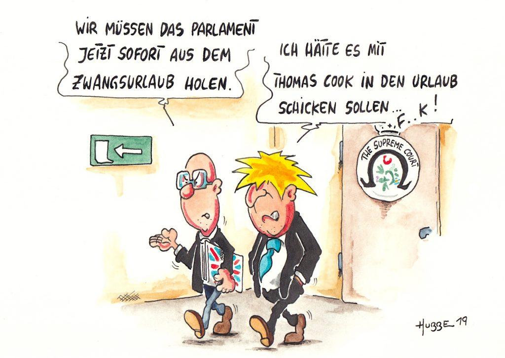 Boris johnson karikatur